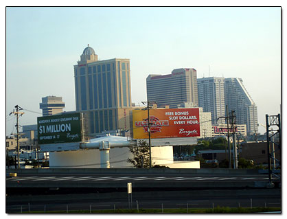 First view of Atlantic City