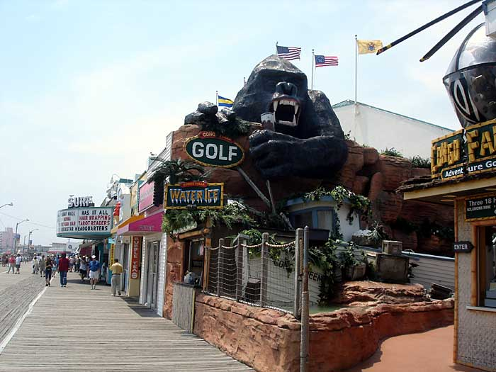 Building Building Kong The Ride In Wildwood Check Out Building Building Kong The Ride In