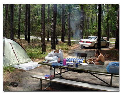 Camping At Carolina Beach State Park Campground