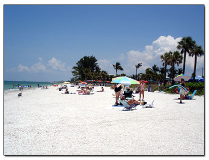 Bonita Springs Beach In Florida