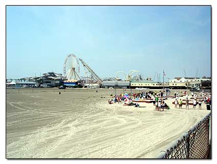 Wildwood Beach Nj America S East Coast Beaches